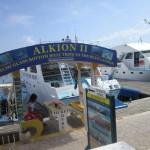 alkioni 2, glass bottom boat