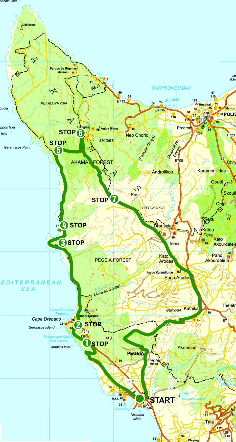 5h route