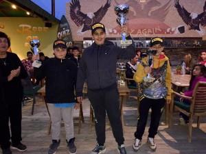 Neofitos Tsaggaras, 1st place