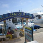 alkioni 2, glass bottom boat