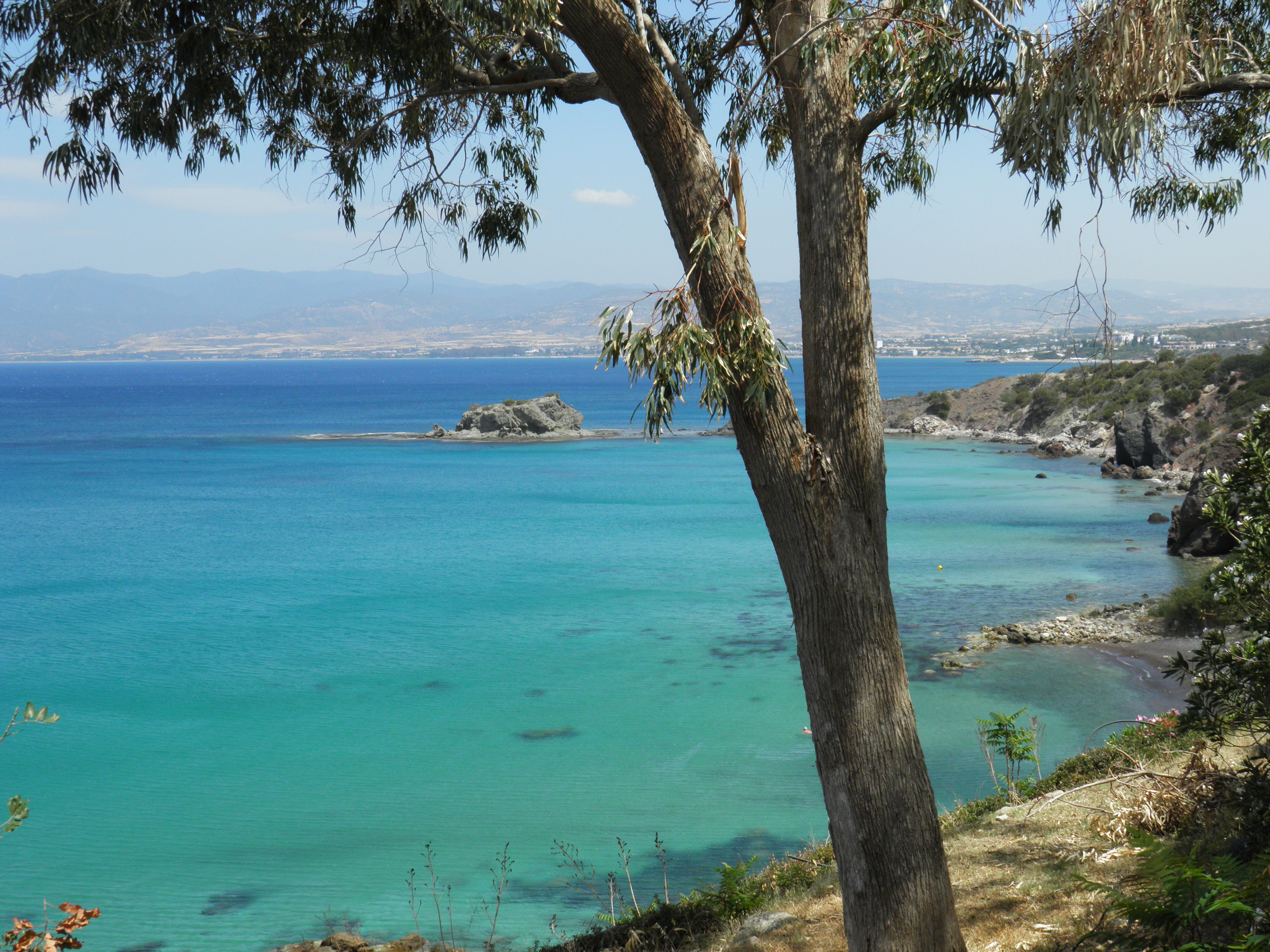 View from Bath of Aphrodite